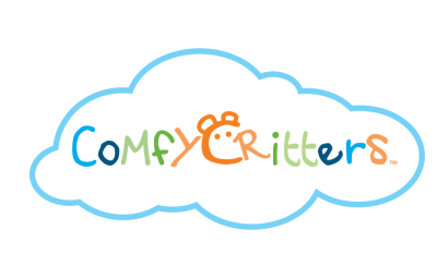 Comfy Critters are great for both bed and play time!