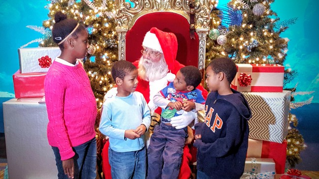 The kids still believe in the magic of Christmas...do you?