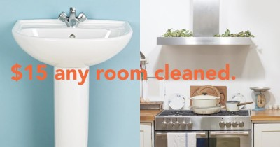 Well-Kept will lean any room for $15. It's room cleaning a la carte!