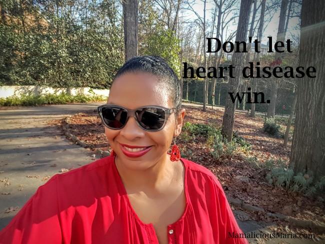 Don't let heart disease in women win!
