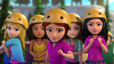 "Season 1 of LEGO Friends ""The Power of Friendship"" is now streaming on Netflix."