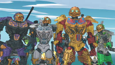 LEGObionicle is now streaming on Netflix.