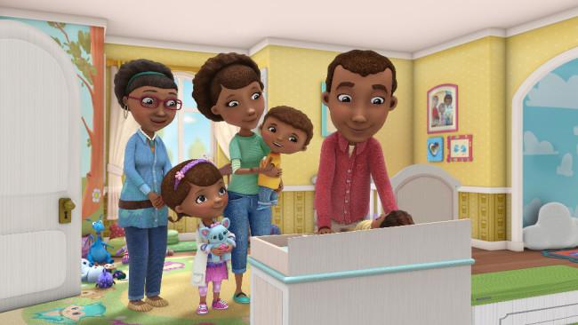 DOC MCSTUFFINS - The McStuffins family experiences the joys of adoption.