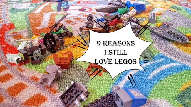 Yes, I still love LEGOS!