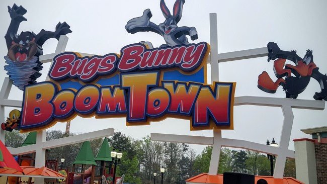 Bugs Bunny's Boomtown is now open at Six Flags Over Georgia.