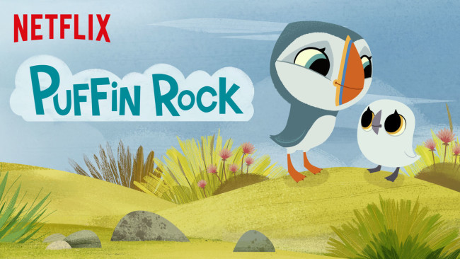 Puffin Rock is on my list to help educate and entertain my kids during our Netflix summer.