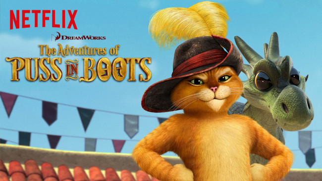 The Adventures of Puss n' Boots is on my list to help educate and entertain my kids during our Netflix summer.