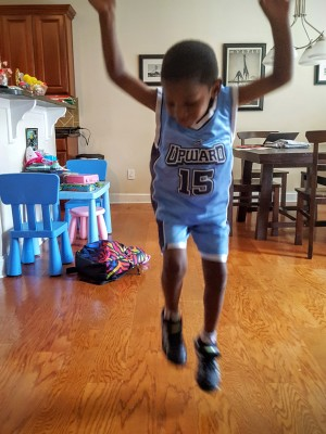 These Stride Rite Leapz have my son jumping for joy and make a great choice for back to school shoe shopping.