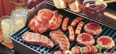 Precooking your meat can save time and money when hosting summer guests.