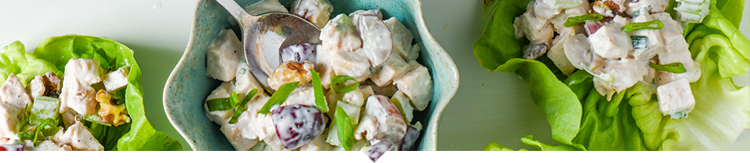 For some lunch box inspiration check out these Chicken Salad Lettuce Wraps.
