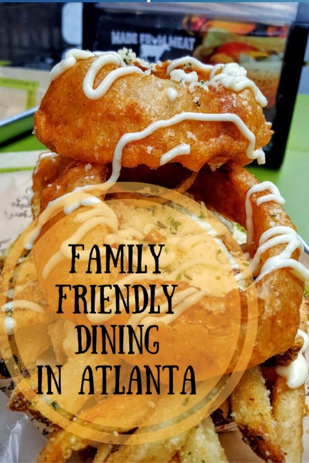 Family friendly dining in Atlanta