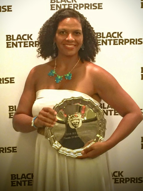 I won my division of the Black Enterprise Tennis Challenge.
