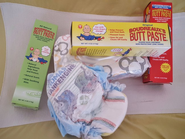 Bourdreaux's Butt Paste is the new mom's best friend! Win a gift pack!