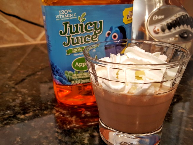 Make this milkshake with Juicy Juice for one of the best after school snacks your kids will ever want.