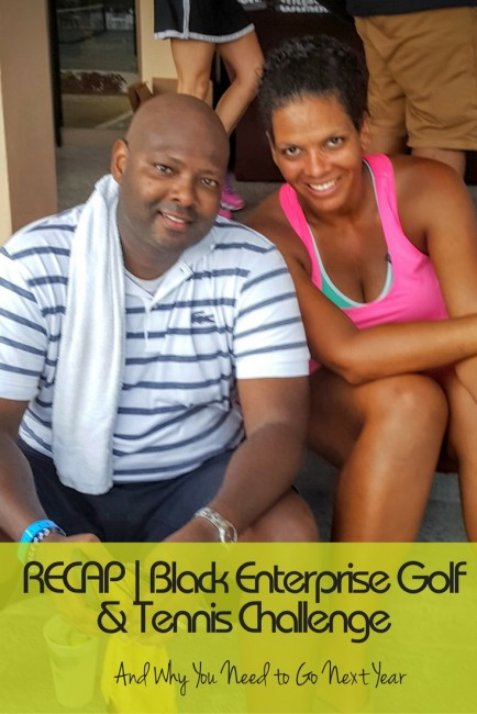 The Black Enterprise Golf & Tennis Challenge is a fun networking event that will be on my annual to do list.