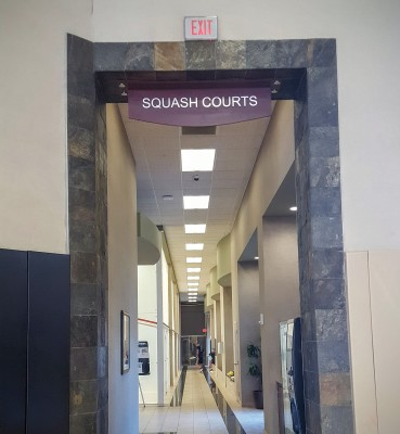 Life Time Fitness Atlanta offers squash courts!