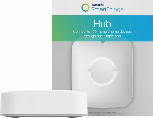 The Samsung SmartThings Hub is what you need to control your whole house!