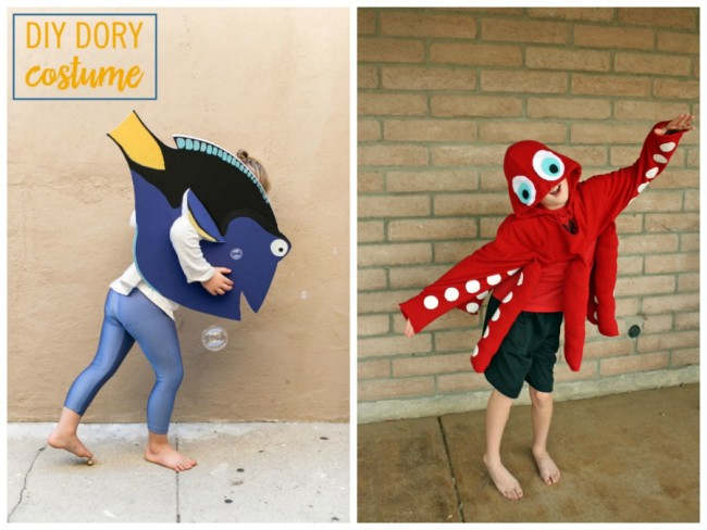 DIY Halloween Costume: Dory
