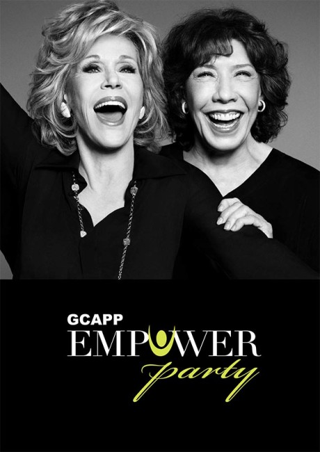 Jane Fonda and Lily Tomlin were the co-hosts for the GCAPP gala.