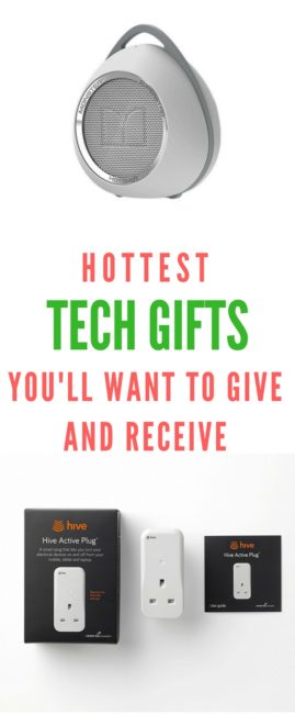 The hot tech gifts are the ones that make life a little easier and more fun and make you look super cool. You'll want to give and receive these gifts!