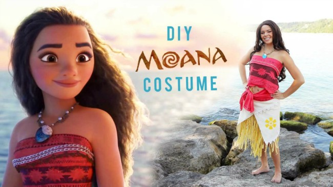 DIY Halloween Costume: Moana from The Sorry Girls
