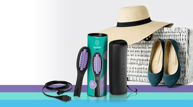 For hair straightening on the go the Dafnigo works wonders and is one of the best gifts to buy for yourself.