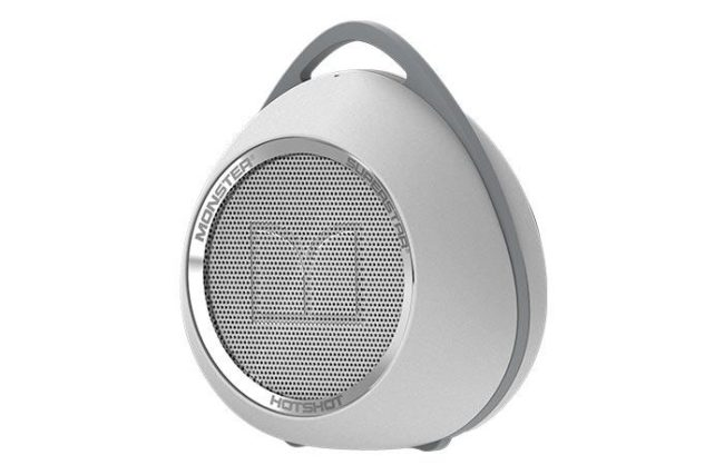 The Monster Hotshot speaker is perfect for taking your music on the go and is one of the best gifts to buy for yourself.