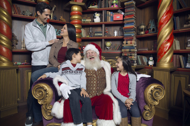 Visit Adventure to Santa at Northpoint Mall in Alpharetta, GA.