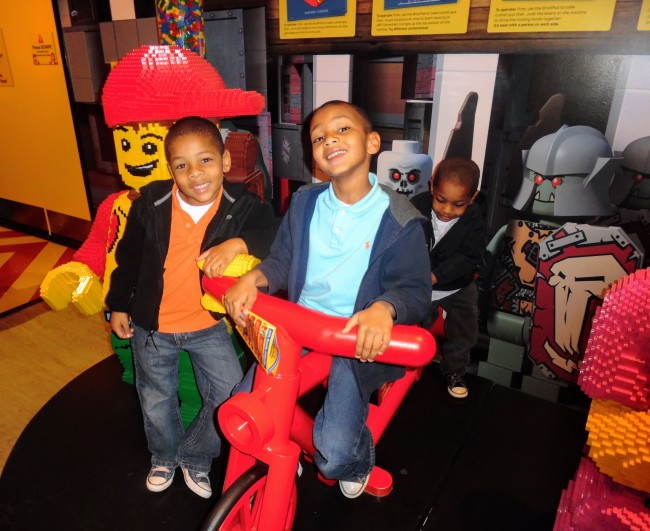 Celebrate the holidays at the Holiday Bricktacular at Legoland Discover Center Atlanta at Phipps Plaza.