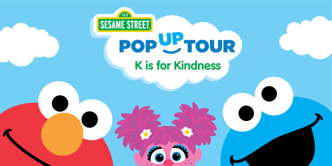 Sesame Street Kindness Tour is coming to cities around the US.