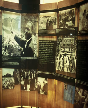 The Martin Luther King Jr. National Historic Site and The King Center are great places to spend an Atlanta MLK holiday weekend.
