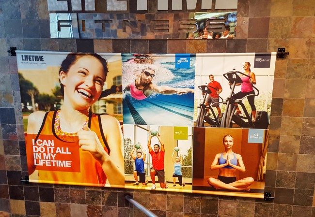 Life Time Fitness is offering a 60 day challenge that starts this month.