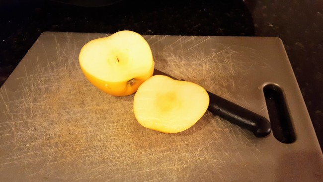 Opal apples are naturally non-browning and make it easier to eat more fruit.