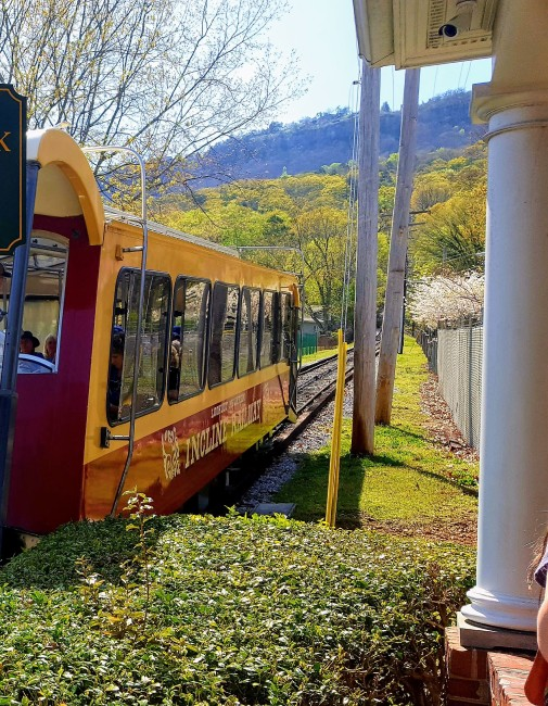 The Incline Railway gives visitors amazing views of Chattanooga.