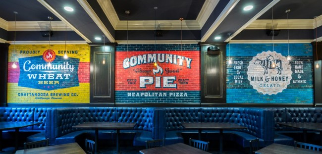 We loved the NY style pizza and creamy gelato at Community Pie!