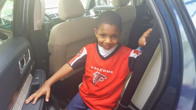 This new SUV got the thumbs up from my youngest son.