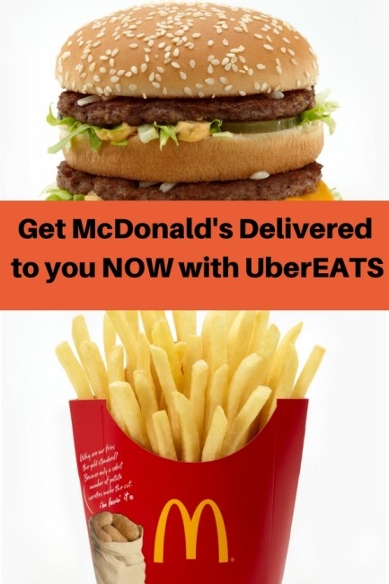 Get McDonald's delivered to you. It's now possible in Atlanta and beyond!