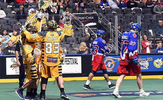 The Atlanta Swarm have Game 2 of the Playoffs on Saturday at Infinite Arena this weekend in Atlanta.