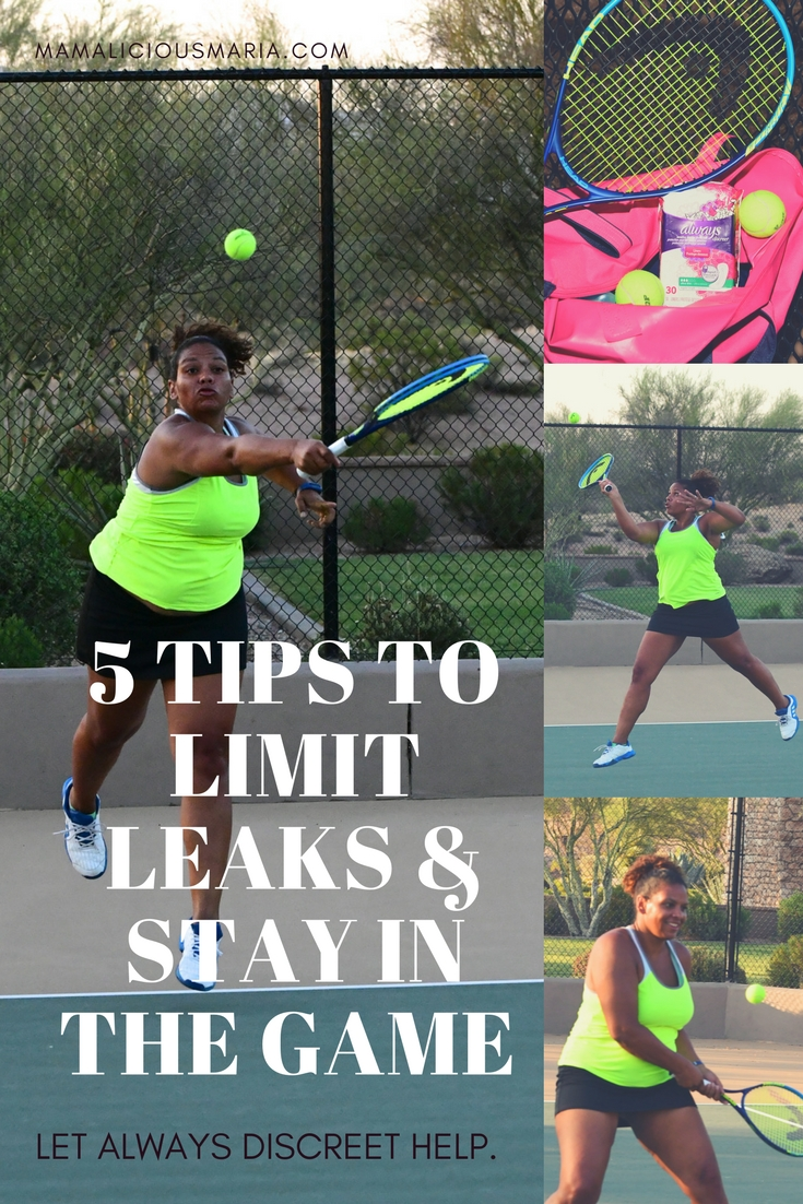 Whether you are playing tennis or doing jumping jacks, limiting bladder leaks is something many women have to think about. Always Discreet can help.