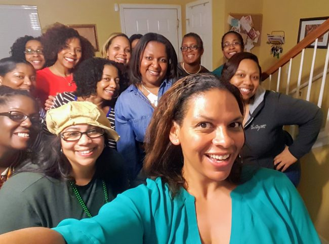 Recent Moms Night Out with Atlanta Mocha Moms.