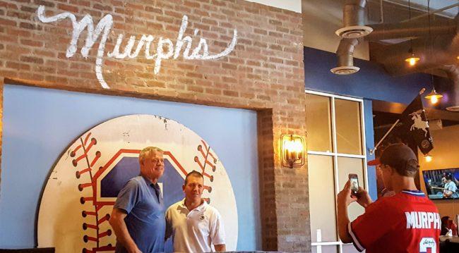 Dale Murphy opened Murph's restaurant in Atlanta near SunTrust Park.