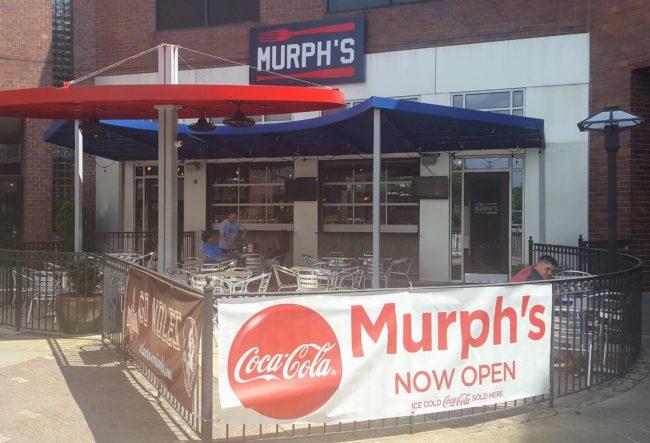 Murph's restaurant is a fantastic option for the whole family in Atlanta near SunTrust Park.
