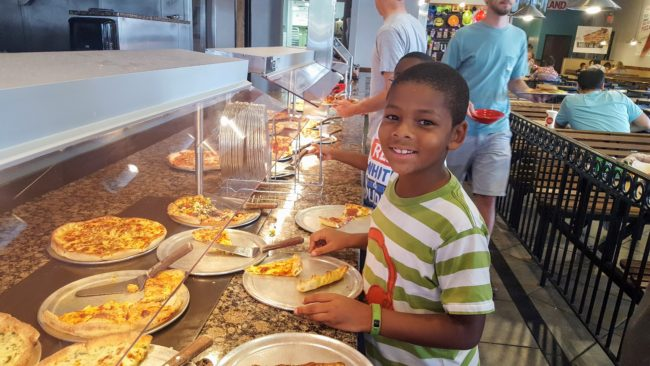 Stevi B's Pizza Buffet is a great option for fun family dinners everyone will love.