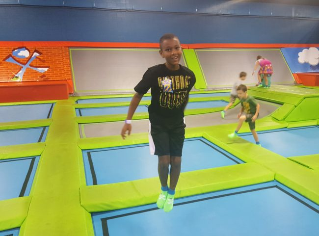 The X-Drenaline Trampoline Park is a fantastic place to throw the best kids birthday party.