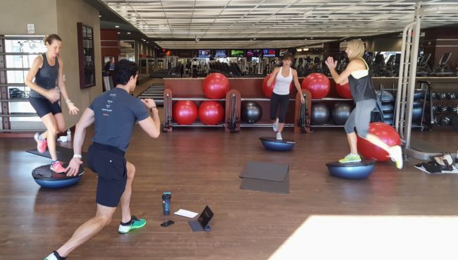 Life Time Fitness takes group fitness training very seriously. There is a level for everyone!