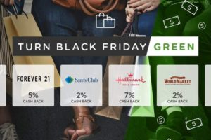 Cash Back App Means You Can Turn Black Friday Green