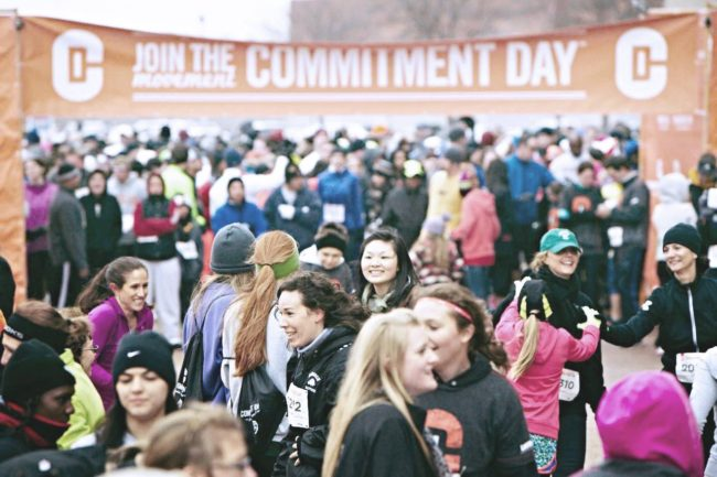 Start the new year out on the right foot (literally). Grab a friend and register for the Commitment Day 5k! Find a race near you: http://bit.ly/2BwKmnR