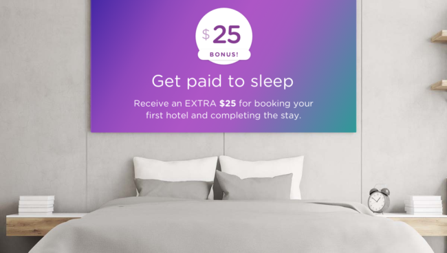 Get an extra $25 off your first hotel booking will help you make money on holiday travel as well as save money.