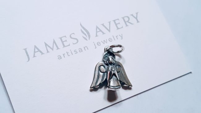 James Avery artisan jewelry lets me give the gift of peace to myself as well as you.