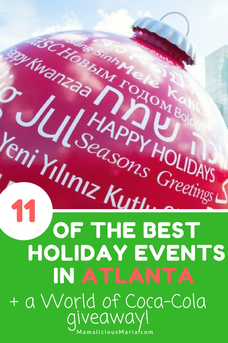 These are the best Atlanta holiday events for the whole family. You can still get them in this holiday season!